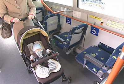 Image2:How to ride the bus with a stroller