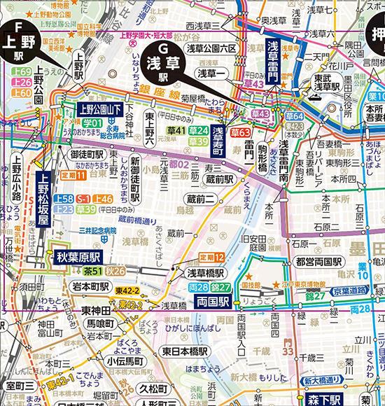 路線図(みんくるガイド) | 東京都交通局