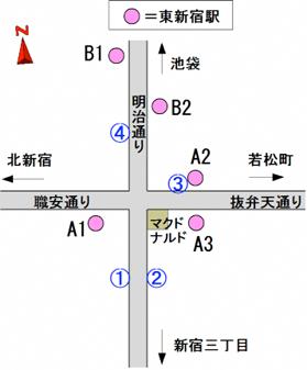 東新宿駅 | 東京都交通局