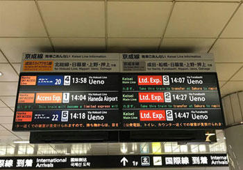 Photo: Access from Narita Airport