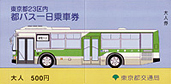 Photo:Toei Bus One-Day Economy Pass