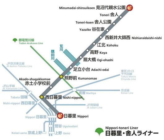 Toei Subway Map Pdf.Route Map Toei Transportation