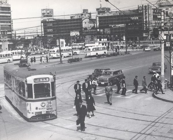 都電今昔:昭和42年頃 錦糸町 | 東京都交通局