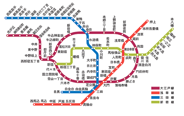 都営三田線、大江戸線のダイヤを改正します | 東京都交通局