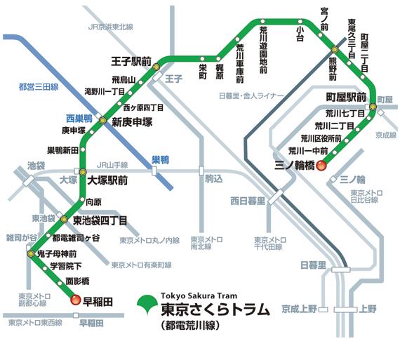 路線図   東京都交通局